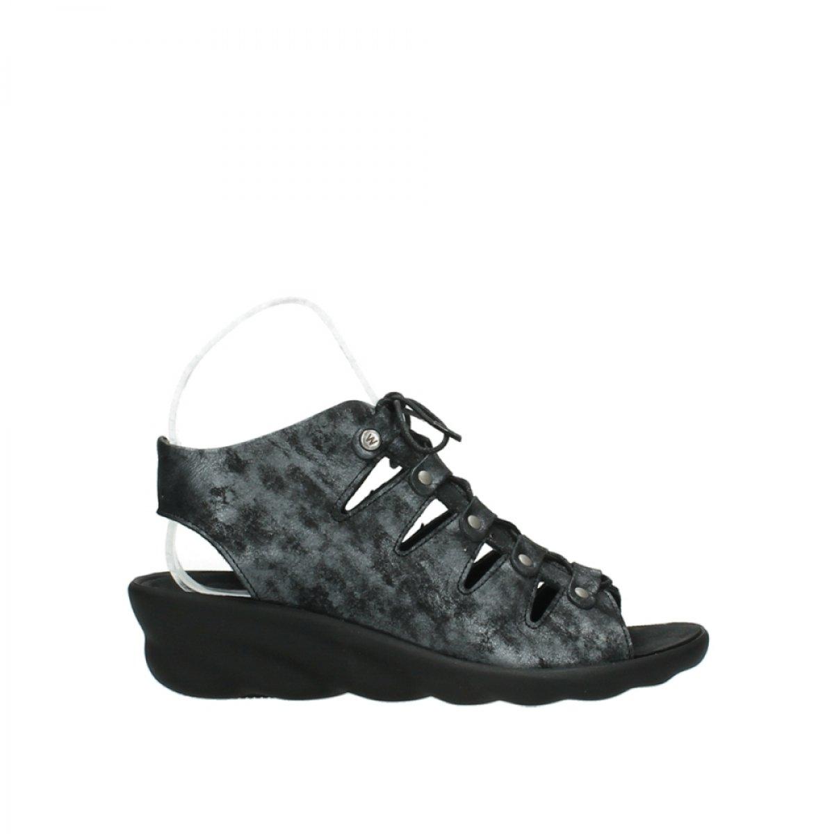 Wolky Comfort Arena - 10000 black/anthracite nubuck - 38