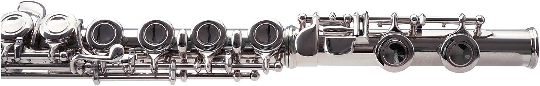 Classic Cantabile FL-100J fl/ûte traversi/ère avec pupitre accordeur et pied de pose