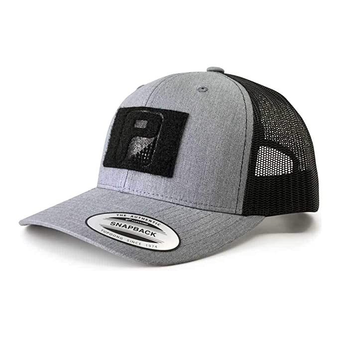 d2761bcf268bc5 Amazon.com: Pull Patch Tactical Hat Authentic Snapback, Heather ...
