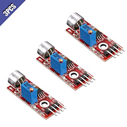 Integrated Circuits 2pcs High Sensitive Microphone Sound Sensor Detection Module For Arduino Avr Pic 5v Dc Power Supply Analog Output Module