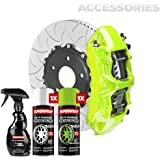 Superwrap Sprayable Vinyl Wrap - Accessories Kit - Calipers, Grills, Trims, Mirrors or Emblems - High Gloss - Ithaca Green