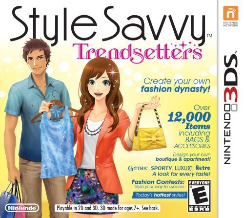 Style Savvy: Trendsetters - Nintendo - In Fashion Video Games