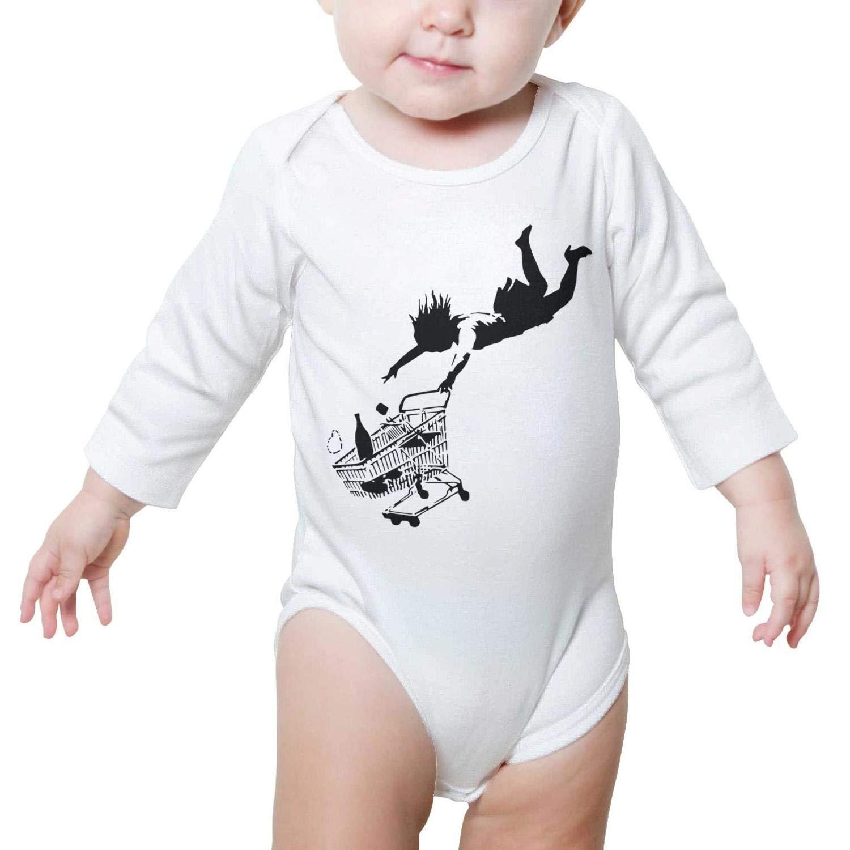e2ed6ac9b Amazon.com: Portrait Art Shop Till You Drop Unisex Baby Boys Girls Onesie  Bodysuit Soft Comfortable: Clothing