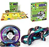 Crazy Aaron Thinking Putty Gift Bundle Mixed By Me Glow Dark Kit + Bonus Super Illusions Super Scarab Tin