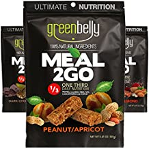 Greenbelly Backpacking Meals - Backpacking Food, Appalachian Trail Food Bars, Ultralight, Non-Cook, High-Calorie, Gluten-Free, Ready-to-Eat, All Natural Meal Bars (3 Variety)