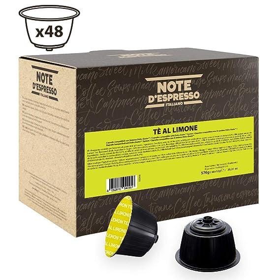 Note DEspresso - Cápsulas de té al limón compatibles con ...