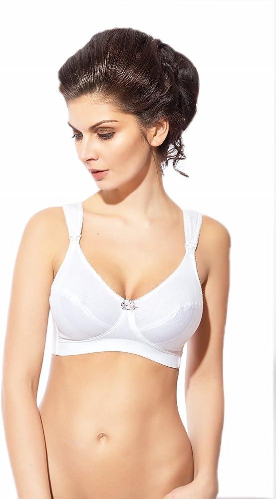 ROSME Sujetador de Mujer Lingerie de algodón sin Aros y sin ...