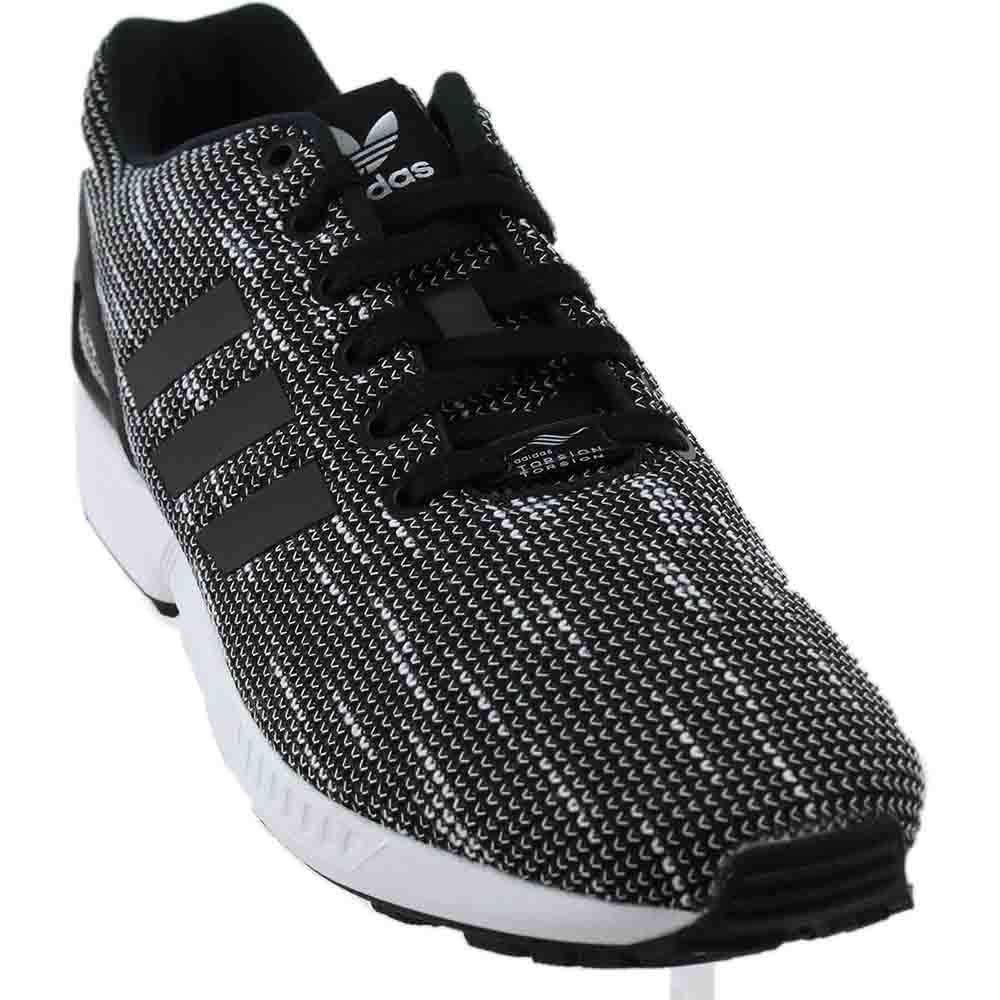 new product 03493 91ac9 adidas Originals Men's ZX Flux Fashion Sneaker Black/White, 5.5 M US