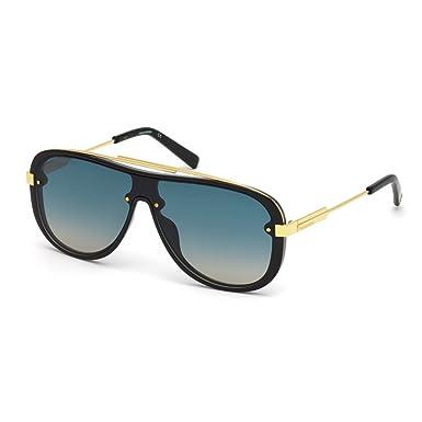 a6d7a844a1aa32 Dsquared2 DQ0271 01W 00, Montures de lunettes Mixte Adulte, Noir (Nero  Lucido