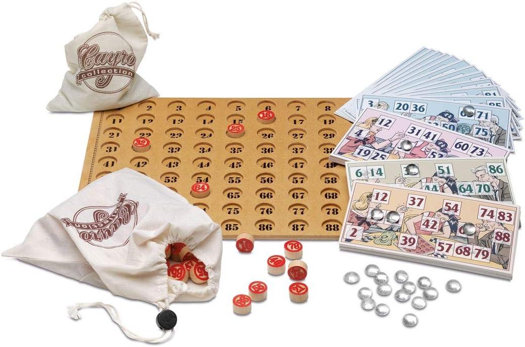 Cayro -Loteria Collection- Juego de Mesa Tradicional - Bingo - Juego de Mesa (533): Amazon.es: Juguetes y juegos