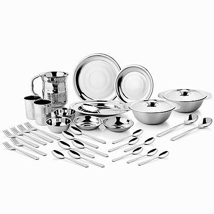 Mosaic Dinner Set 57 Pcs Spl In Stainless Steel Dss 04 57 Spl