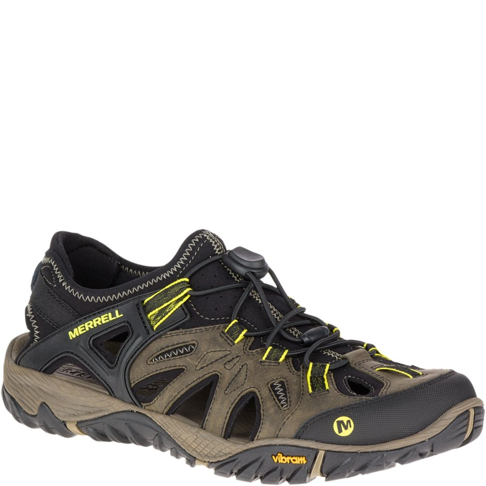 Merrell Men's All Out Blaze Sieve Water Shoe, Olive Night, 11.5