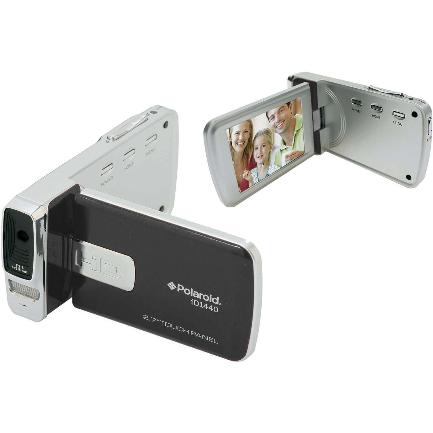 Polaroid ID1440-BLK-KHL Polaroid 14 MP 4x Zoom Digital Camcorder with 2.7-Inch LCD Screen (Black)
