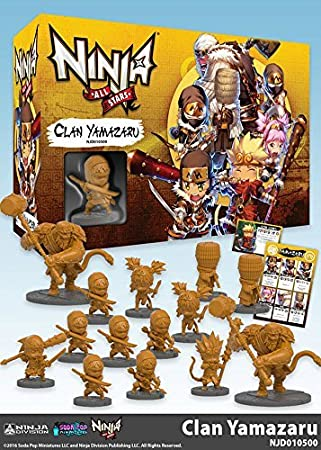 Ninja All-Stars: Clan Yamazaru by Ninja Division: Amazon.es ...