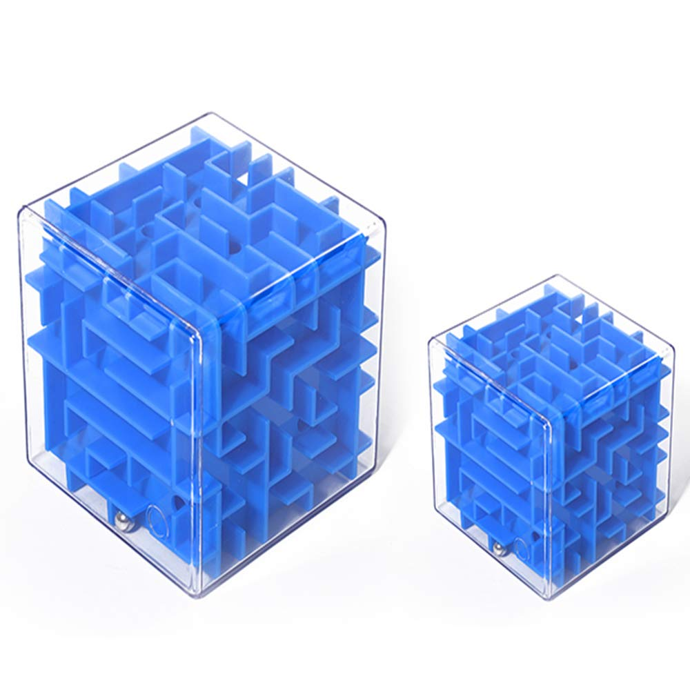 XBSD Idea Maze Toys, Maze Puzzle Box, Unique Puzzle and Brain Teasers, for Kids and Adults. Fun and Inexpensive Game Challenge. by XBSD