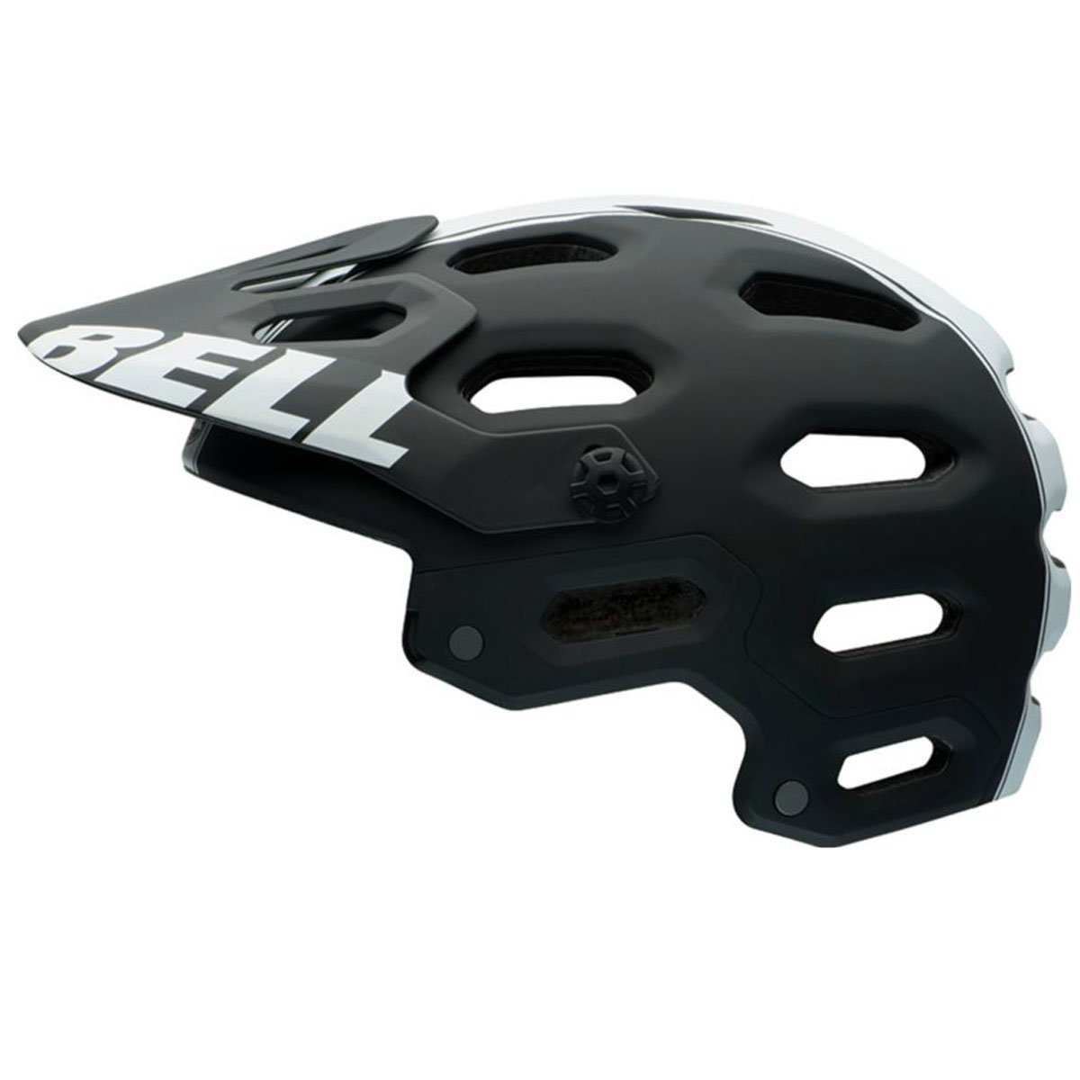 Bell Super 2 MIPS Equipped Bike Helmet - Matte Black/White Small by Bell   B00MV2XAKW