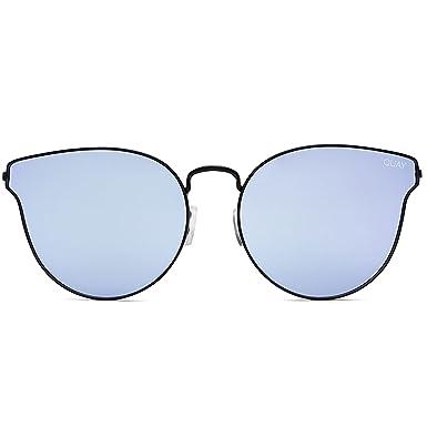 0861cf5d9869c Quay Australia ALL MY LOVE Women s Sunglasses Classic Cat Eye - Black Purple