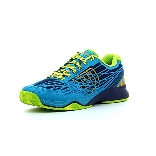 Wilson Kaos, Zapatillas de Tenis Hombre, Azul (Blue), 44 EU ...