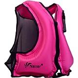 NAXER Inflatable Buoyancy Jacket Kayak Vest for Adults Kayaking Swim 90-220 lbs