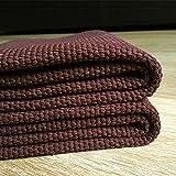 Cotton hand-woven rectangular mats kitchen carpet floor mat door mats,165×240cm