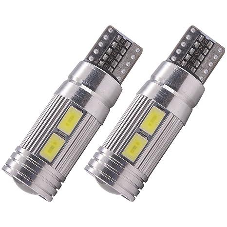W5W T10 Bombillas LED de luz lateral Canbus libre de errores coche 501 168 175 194