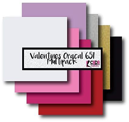 Amazon Com Valentine S Day Oracal 651 Multipack Adhesive Vinyl