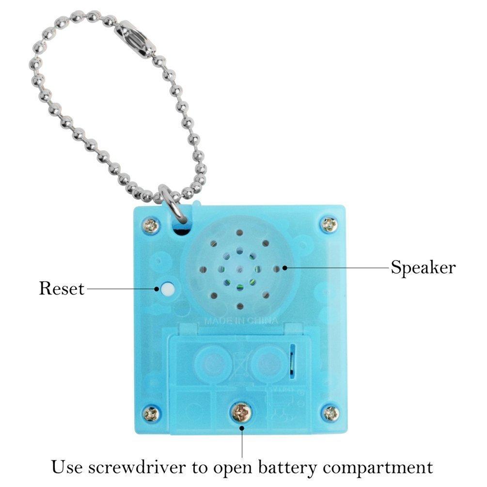 Amazon.com: Berocia - Llavero de juguete con burbujas ...