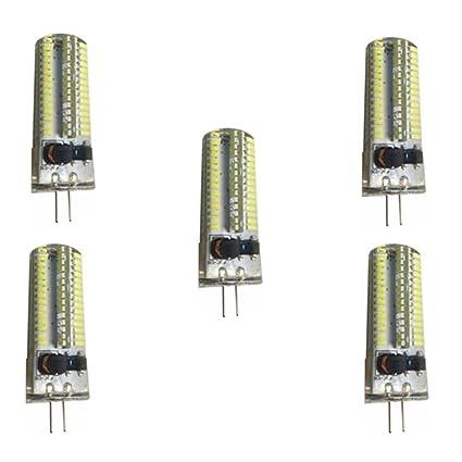 Chenyuying G4 Bombillas LED 6 vatios 3000K / 6000K AC / DC12-24V 450 lúmenes