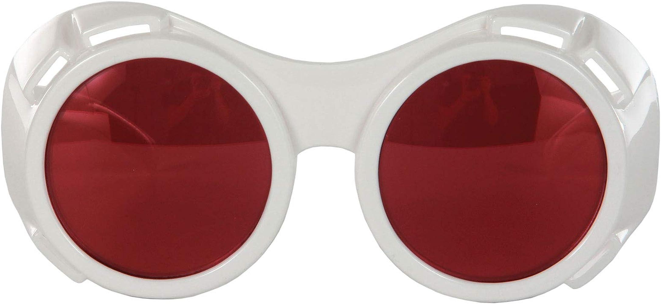 Amazon.com: Elope blanco y rojo Hyper anteojos de visión ...