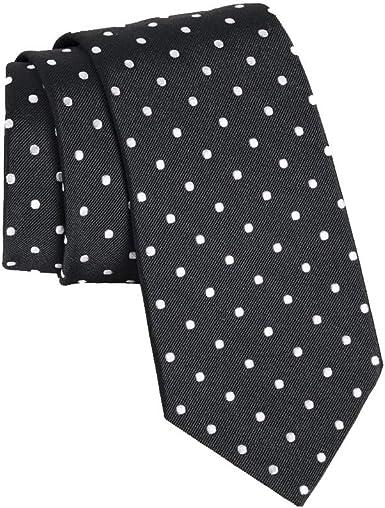 Gitman Bros Navy with Woven White Dots Tie