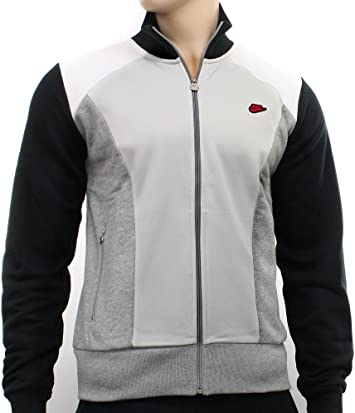 Nike - Chaqueta de chándal con cremallera para hombre, color negro, gris y blanco, hombre, color gris - gris, tamaño xx-large: Amazon.es: Deportes y aire libre