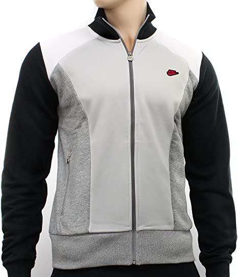 Nike - Chaqueta de chándal con cremallera para hombre, color negro ...