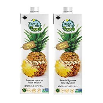 Heaven & Earth 100% Queen Pineapple Juice