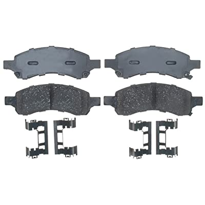 ACDelco 17D1169ACH Professional Ceramic Front Disc Brake Pad Set: Automotive