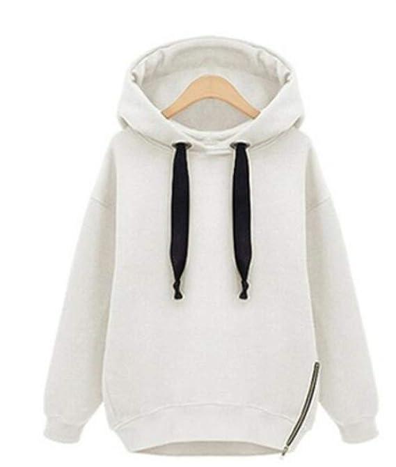 Sweatshirt Green BTS Side Zipper Hoodie Blackpink Kpop Winter Oversized Hoodie Streetwear Women Long Sleeve Solid Color Hoodies, White Hoodies, ...
