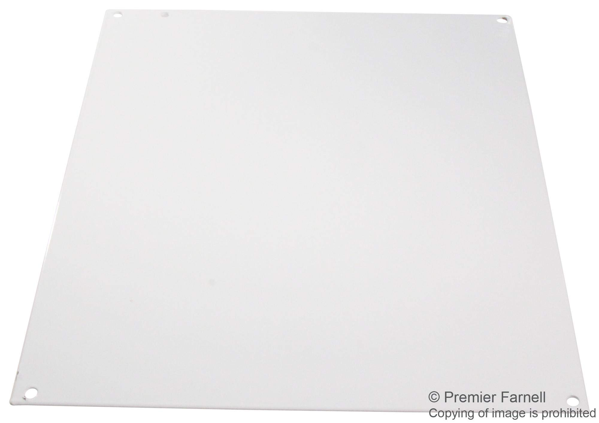 A14P12 - Panel, 14 Gauge, Steel, White, Junction Boxes, 324 mm, 276 mm (Pack of 2) (A14P12)