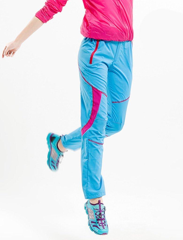 Lakaka Pantalones Mujer Senderismo Pantalones Pantalones de trekking exterior Agua Viento Con Cintur/ón
