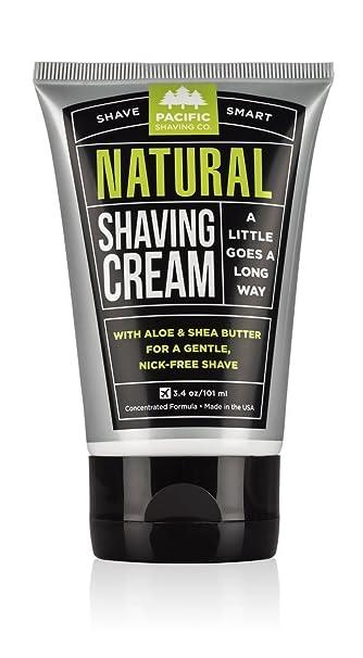 Pleasant Amazon Com Pacific Shaving Company Natural Shaving Cream 3 4 Short Hairstyles Gunalazisus