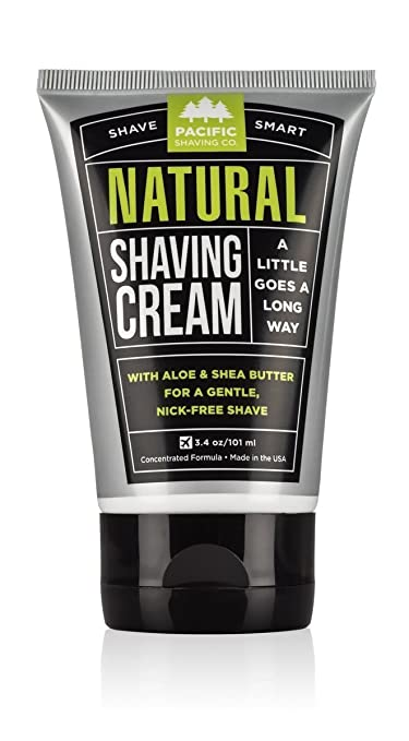 best natural shaving cream for sensitive skin