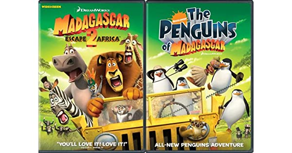 Amazon.com: Move It, Move It Two-Disc Pack (Madagascar ...