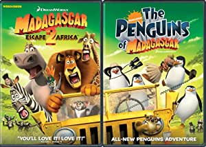 Move It, Move It Two-Disc Pack (Madagascar: Escape 2 Africa / The Penguins of Madagascar)(Widescreen)