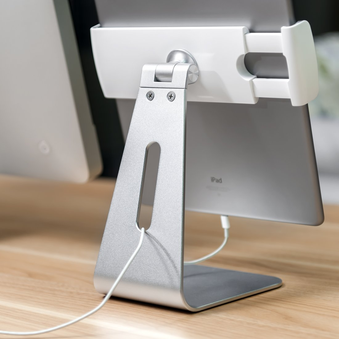 Viozon ipad Pro Stand, Tablet Stands 360° Rotatable Aluminum Alloy Desktop Mount Stand for Ipad Pro Ipad Air Ipad Mini Surface and Surface Pro by Viozon (Image #7)