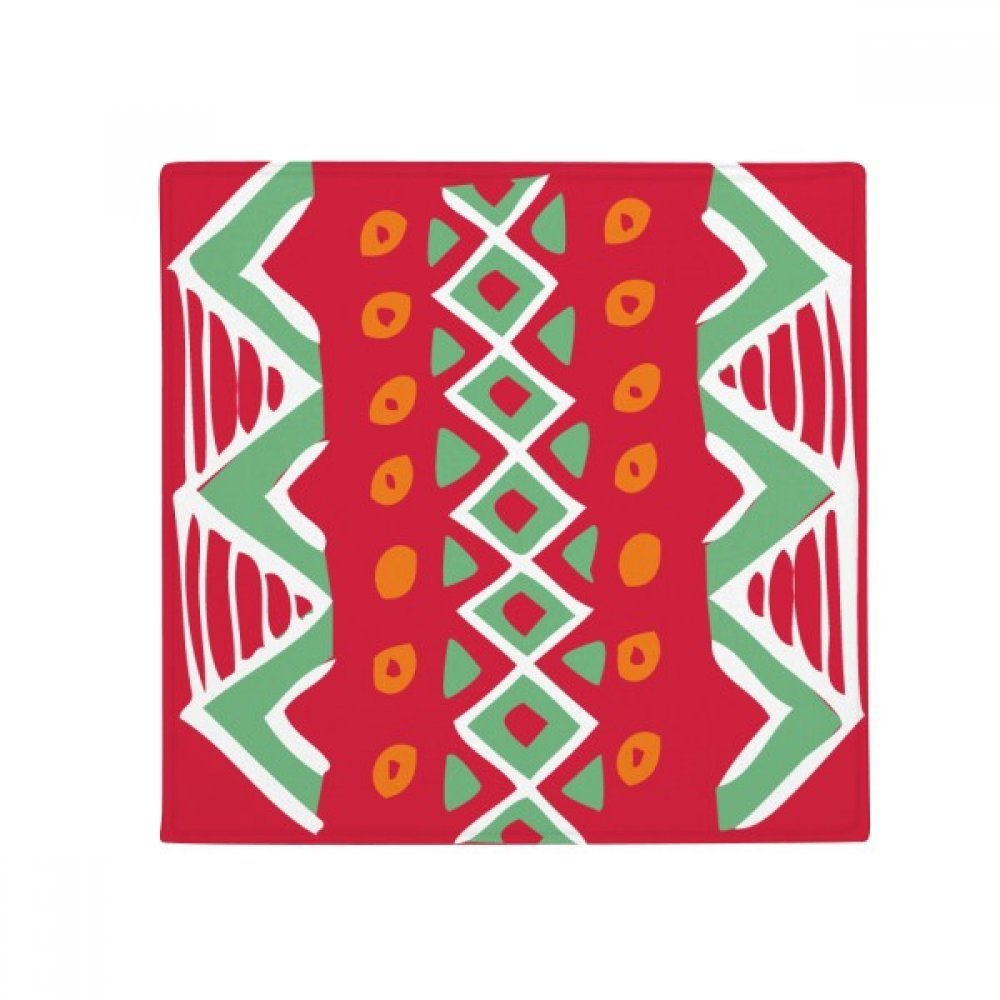 DIYthinker Red Mexico Totems Ancient Civilization Drawing Anti-Slip Floor Pet Mat Square Home Kitchen Door 80Cm Gift