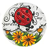 Tom & Co. SUNFLOWER LADY BUG GARDEN STEPPING STONE
