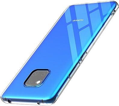 anccer Funda para Huawei Mate 20 Pro, Silicona Transparente ...