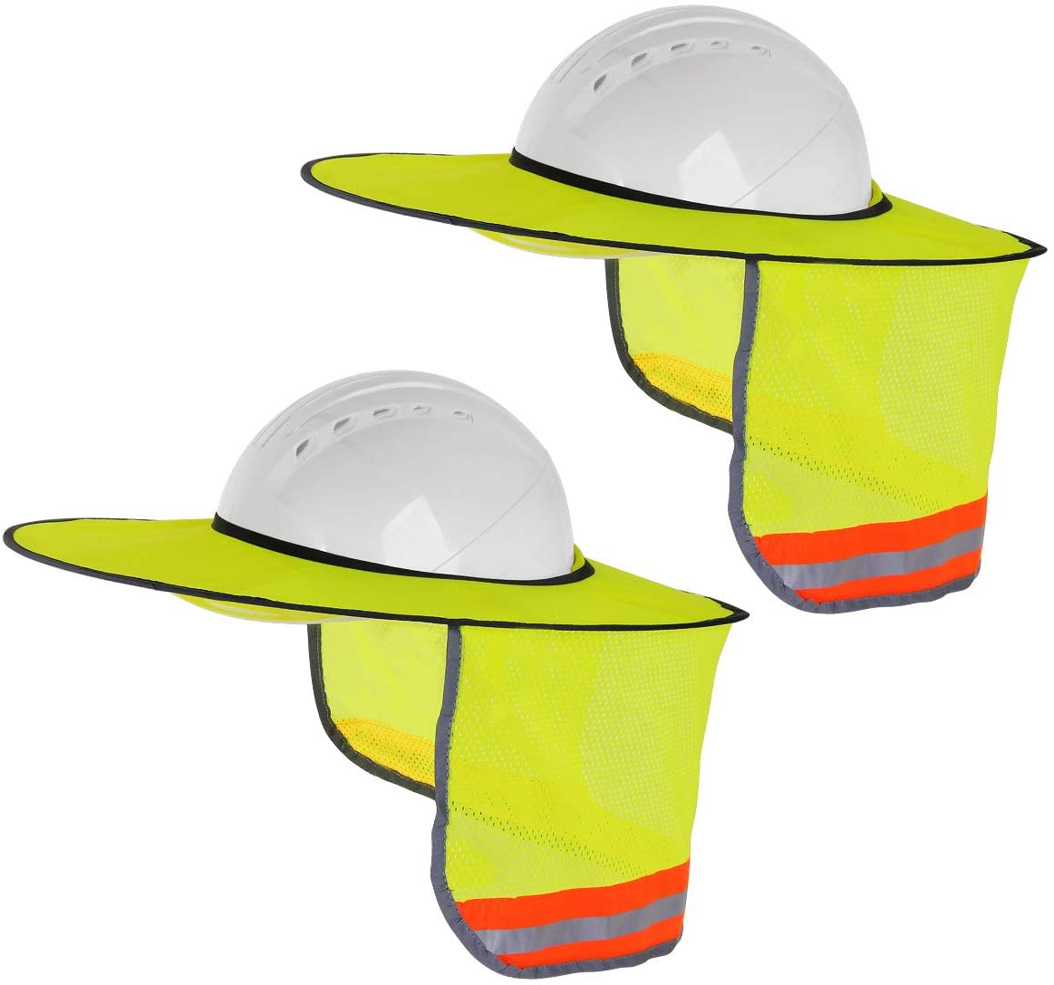 SunShade Hard Hat Accessory Attached Easily to Your Hard Hat New