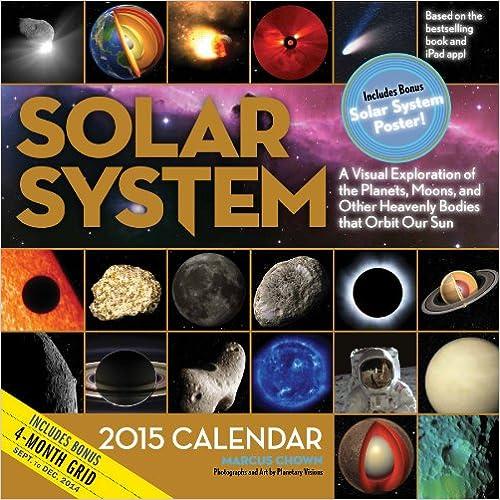 Solar System 2015 Calendar
