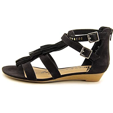 American Rag Womens Aleah Open Toe Casual TStrap Sandals Black Size 50
