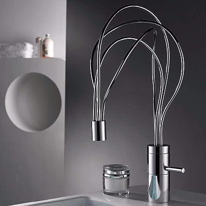 Gentil Unusual Design Kitchen Faucet Single Handle Basin Sink Mixer Tap Spout      Amazon.com