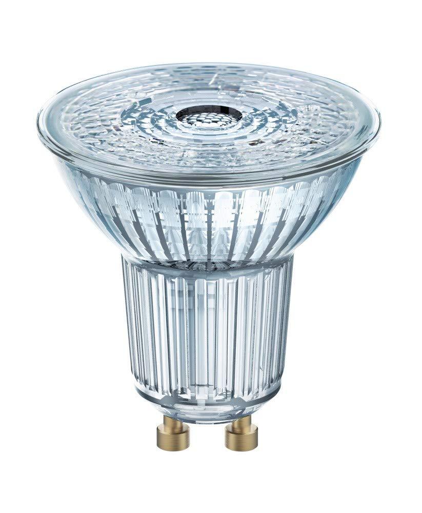 OSRAM GU10 LED = 50 W 350 Lumen CRI 90 3000 K Warmweiß PARATHOM dimmbar 36 Grad 25.000 Stunden Lampen 10 Stück